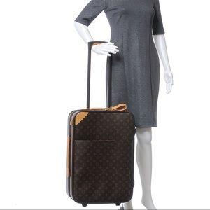 Authentic Louis Vuitton pegase 55 travel bag